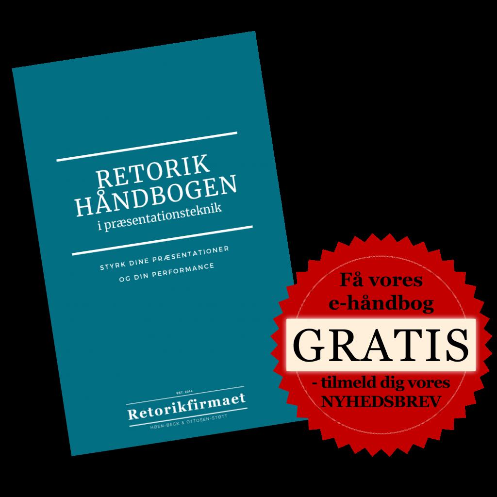 Retorikhåndbogen i præsentationsteknik