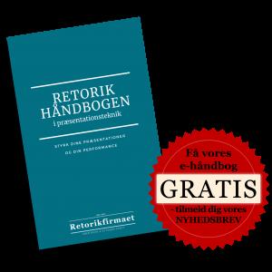 Retorikhåndbogen i præsentationsteknik - Retorikfirmaet